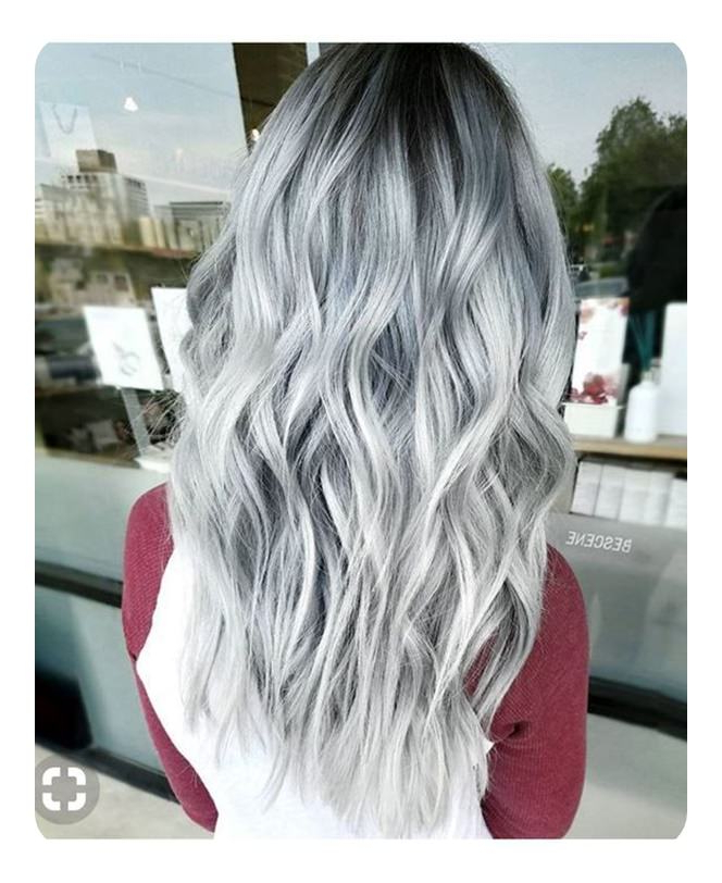104 Long And Short Grey Hairstyles 2019 – Style Easily Regarding Long Hairstyles For Gray Hair (View 16 of 25)