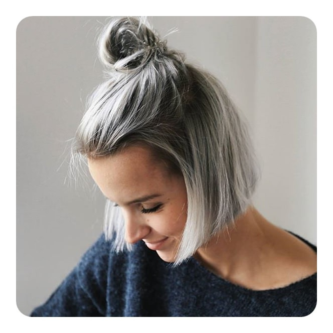104 Long And Short Grey Hairstyles 2019 – Style Easily With Long Hairstyles For Grey Hair (View 8 of 25)