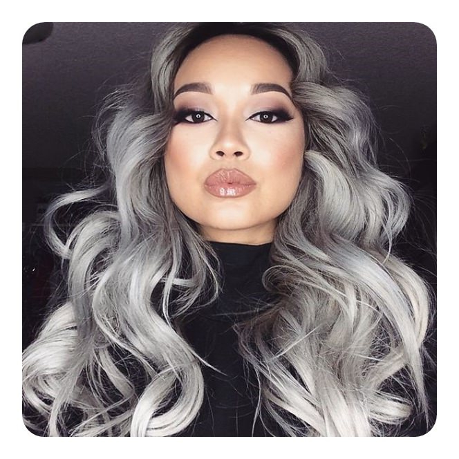 104 Long And Short Grey Hairstyles 2019 – Style Easily Within Long Hairstyles For Grey Hair (View 13 of 25)