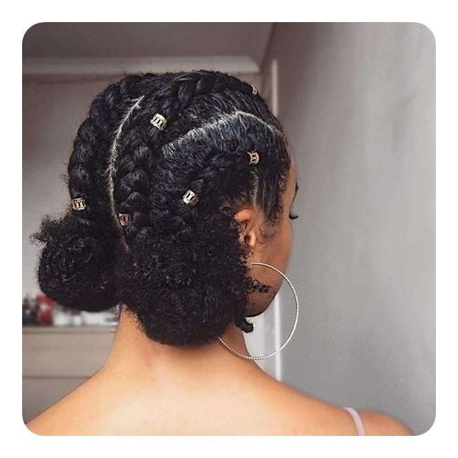 109 Easy And Low Maintenance Protective Hairstyles Regarding Long Hairstyles For Balls (View 21 of 25)