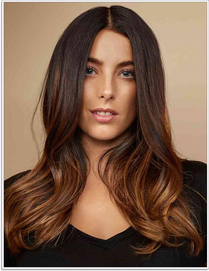 109 Stunning Brown Hair Color Ideas Regarding Dark Brown Long Hairstyles (View 24 of 25)