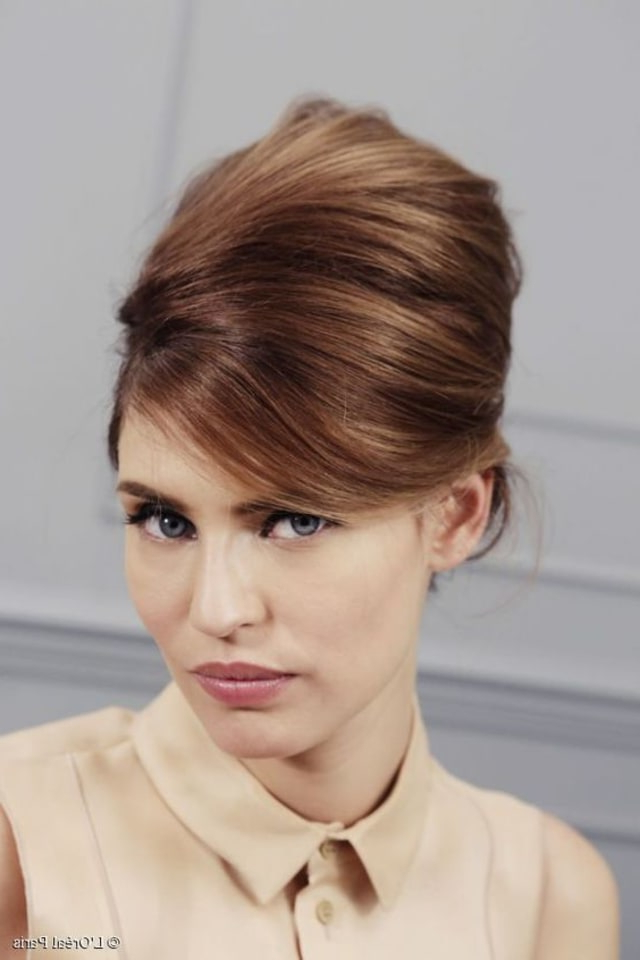 11 Easy Vintage Hairstyles That Are A Cinch To Do — We Promise With Vintage Updos For Long Hair (View 7 of 25)