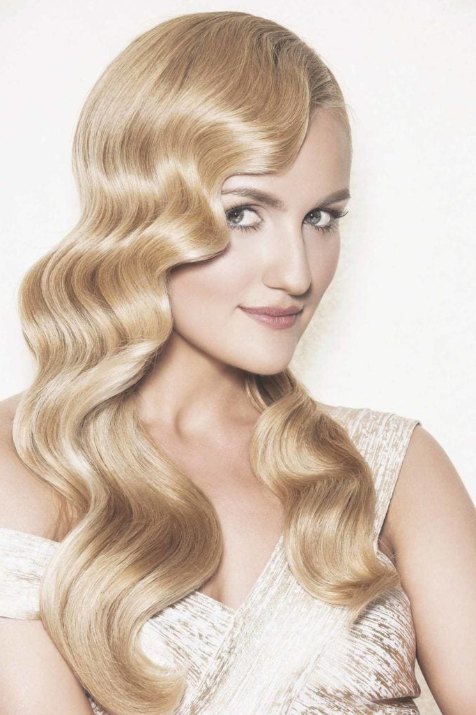 11 Great Gatsby Inspired Hair Ideas For Halloween (And Beyond) | All Intended For Flowing Finger Waves Prom Hairstyles (View 8 of 25)