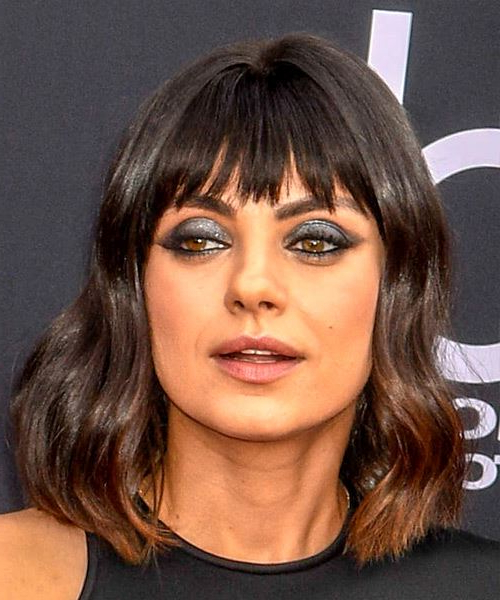 11 Mila Kunis Hairstyles, Hair Cuts And Colors With Mila Kunis Long Hairstyles (View 18 of 25)