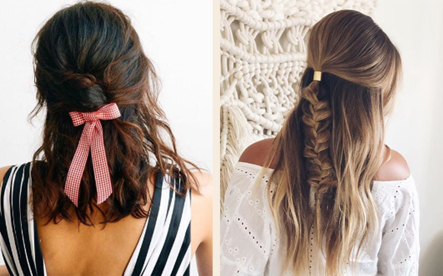 11 Simple, Pretty Bridesmaid Hairstyles For Medium To Long Hair Inside Long Hairstyles Bridesmaids (View 22 of 25)
