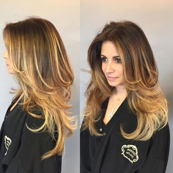 110 Long Layered Hairstyles To Enhance Your Image With Two Tier Long Hairstyles (View 8 of 25)