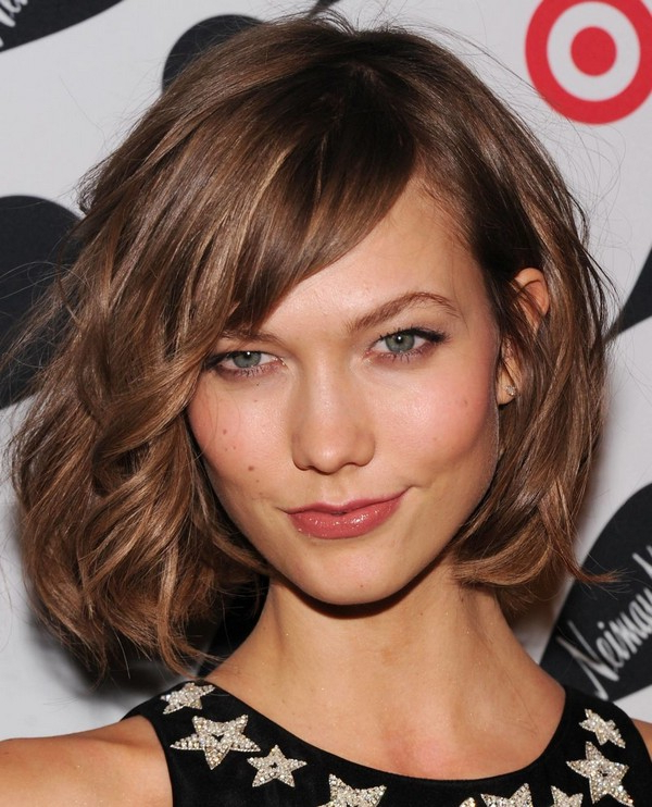 111 Best Layered Haircuts For All Hair Types [2019] – Beautified Designs Regarding Medium Long Haircuts With Side Bangs (View 12 of 25)