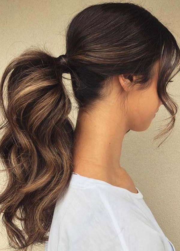 111 Elegant Ponytail Hairstyles For Any Occasion Throughout Elegant Braid Side Ponytail Hairstyles (View 2 of 25)
