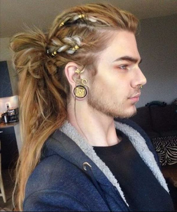 117 Cool Long Hairstyles For Men – Style Easily Within Crazy Long Hairstyles (View 21 of 25)
