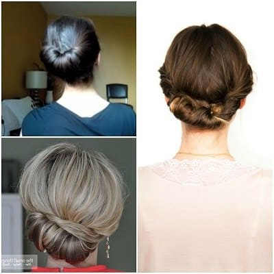 12 Easy Office Updos: Buns, Chignons & More For Busy For Professionals Pertaining To Long Hairstyles Easy Updos (View 25 of 25)