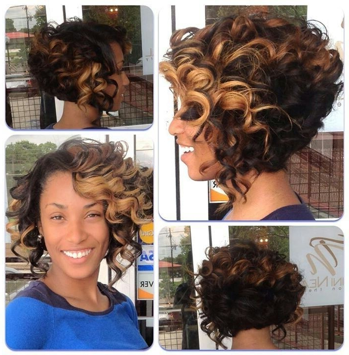 12 Fabulous Short Hairstyles For Black Women | Styles Weekly With Regard To Curly Long Hairstyles For Black Women (View 17 of 25)