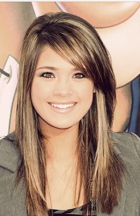 Featured Photo of Long Hairstyles Side Bangs