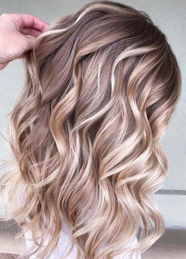 12 Fashionable Highlights Ideas For Long Hair To Flaunt Inside Long Hairstyles With Highlights (View 24 of 25)