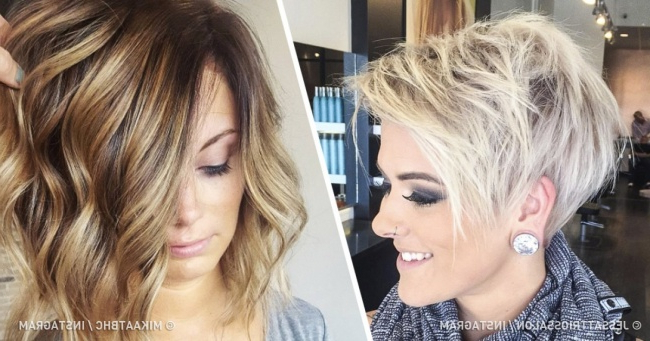 12 Hairstyles That Give Thin Hair Outstanding Volume Pertaining To Long Haircuts To Add Volume (View 11 of 25)