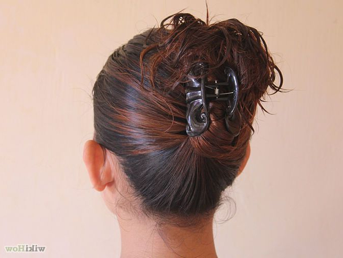 12 Hairstyles With Claw Clips For Long Hair – Long Hairstyle Regarding Long Hairstyles Put Hair Up (View 19 of 25)
