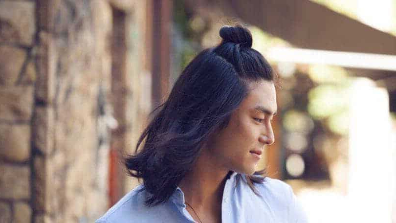 12 Irresistibly Long Hairstyles For Asian Men – Hairstylecamp In Semi Long Hairstyles Korean (View 11 of 25)