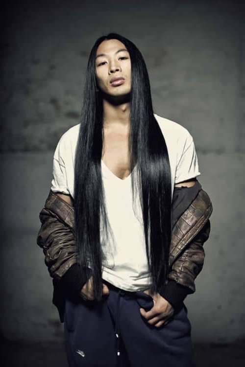 12 Irresistibly Long Hairstyles For Asian Men – Hairstylecamp Inside Long Hairstyles Asian (View 8 of 25)