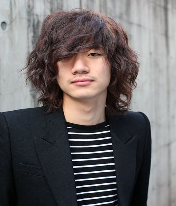 12 Irresistibly Long Hairstyles For Asian Men – Hairstylecamp Throughout Semi Long Hairstyles Korean (View 4 of 25)