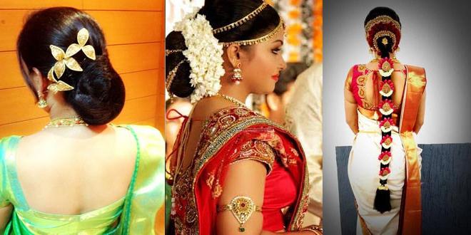 12 Kerala Bridal Hairstyles For Long Hair – Long Hairstyle In Long Hairstyles In Kerala (View 3 of 25)