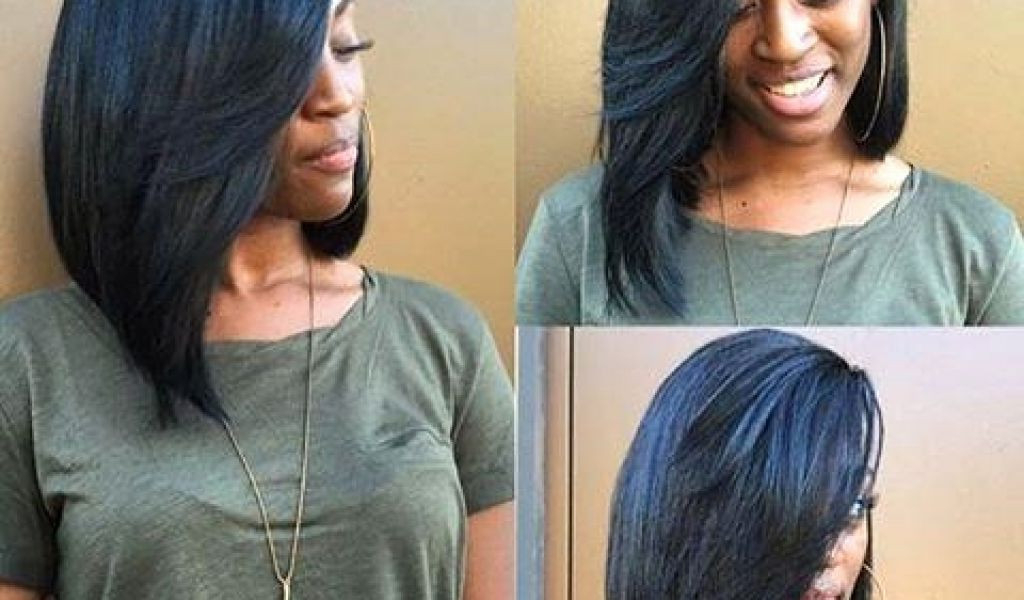 12 New Quick Weave Bob Hairstyles Pics | Cmcdadephotography Throughout Long Bob Hairstyles With Bangs Weave (View 20 of 25)