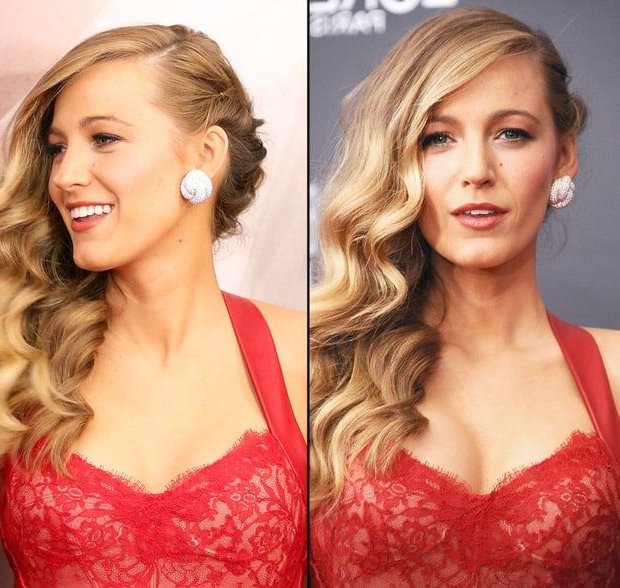 12 Red Carpet Hairstyles That Are Perfect For Prom | Hair Styles Inside Long Hairstyles To One Side (View 12 of 25)