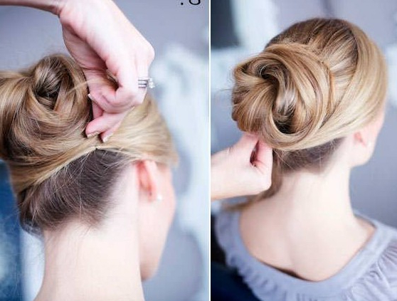 12 Trendy Low Bun Updo Hairstyles Tutorials: Easy Cute – Popular Intended For Vintage Updos Hairstyles For Long Hair (View 17 of 25)