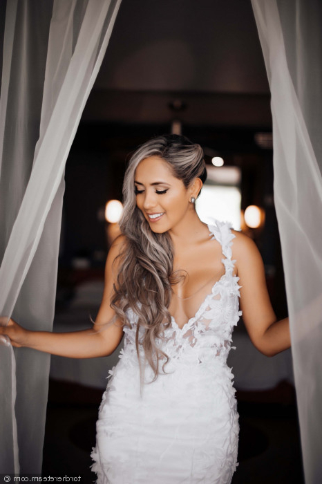 12 Wedding Hairstyles For Long Hair You'll Def Want To Steal In Long Hairstyles Pulled Up (View 23 of 25)