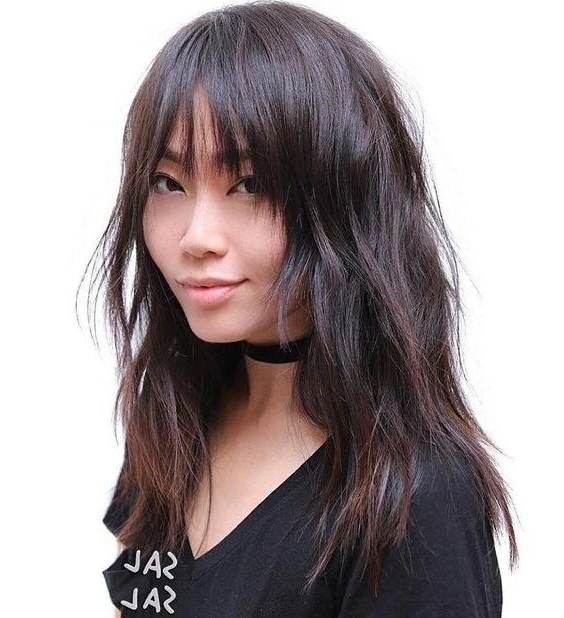 120 Flattering Hairstyles For Straight Hair That Everyone Can Pull Off Regarding Long Hair Shaggy Layers (View 23 of 25)