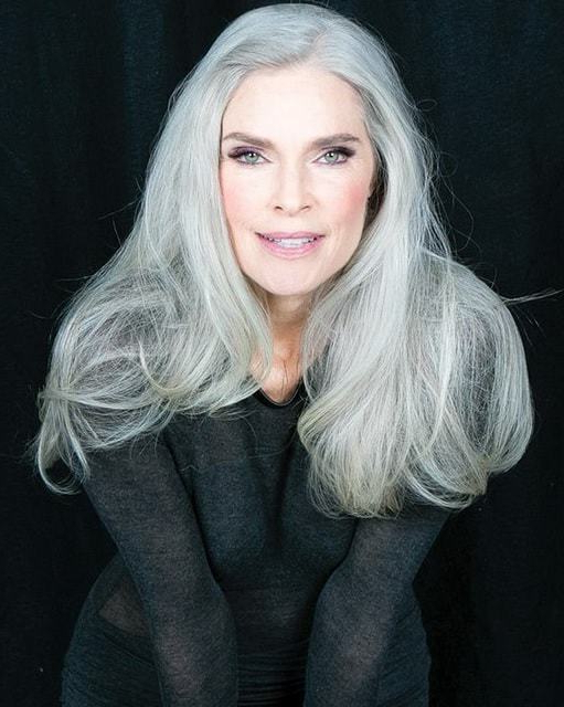 121 Glamorous Hairstyles For Women Over 50 – Hairstylecamp Inside Long Hairstyles For Women Over (View 6 of 25)