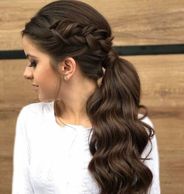 125 Artistic Braided Ponytails For 2019 Pertaining To Elegant Braid Side Ponytail Hairstyles (View 21 of 25)