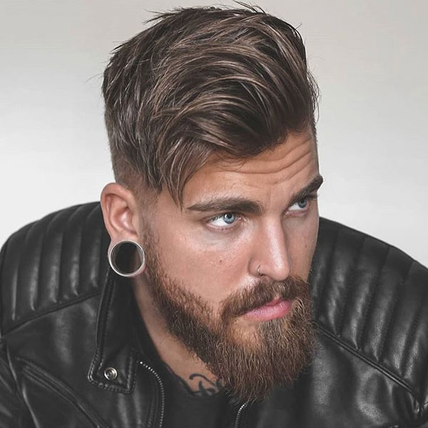 125 Best Haircuts For Men In 2019 | Men's Hairstyles + Haircuts 2019 In Messy And Modern Side Swept Hairstyles (View 6 of 25)