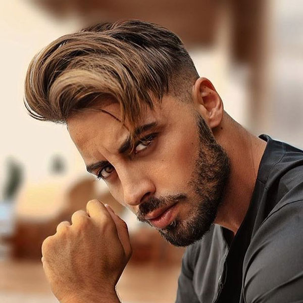 125 Best Haircuts For Men In 2019 | Men's Hairstyles + Haircuts 2019 With Messy And Modern Side Swept Hairstyles (View 10 of 25)