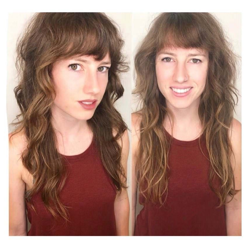 125 Coolest Shag Haircuts For All Ages – Prochronism With Regard To Long Shaggy Hairstyles For Fine Hair (View 24 of 25)