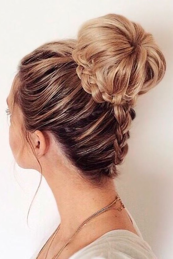 125 Prom Hairstyles For A Queenly Vibe Inside Romantic Prom Updos With Braids (View 18 of 25)