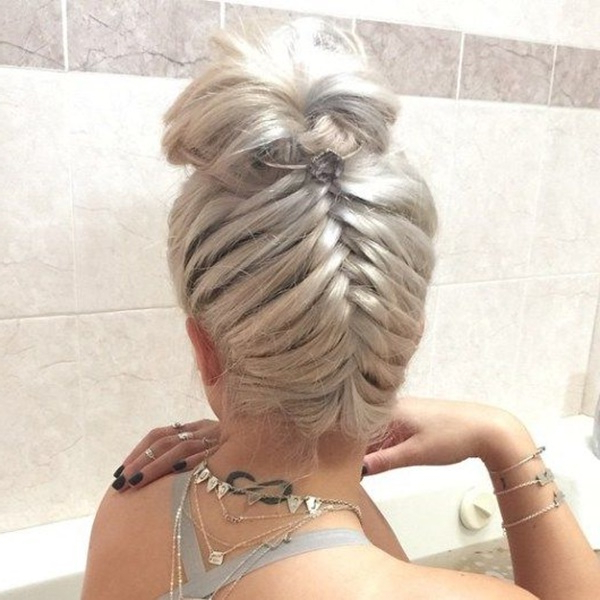 125 Prom Hairstyles For A Queenly Vibe Pertaining To Upside Down Braid And Bun Prom Hairstyles (View 18 of 25)