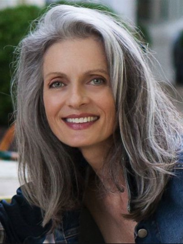 125 Stunning Hairstyles For Women Over 40 In Long Hairstyles Over (View 14 of 25)