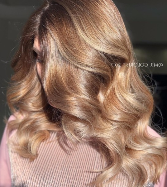 13 Beautiful Light Brown Hair Colour Ideaslovehairstyles In Light Layers Hairstyles Enhanced By Color (View 19 of 25)