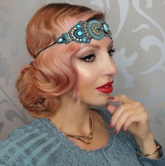 13 Best Flapper Hairstyles For Long Hair | 1920S Hair Intended For Flapper Girl Long Hairstyles (View 10 of 25)