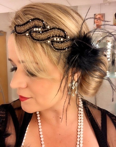 13 Best Flapper Hairstyles For Long Hair | 1920S Hair Regarding Long Hairstyles Of The 1920S (View 12 of 25)