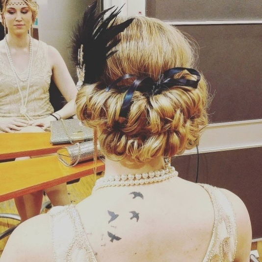 13 Best Flapper Hairstyles For Long Hair | 1920S Hair Throughout Flowing Finger Waves Prom Hairstyles (View 19 of 25)