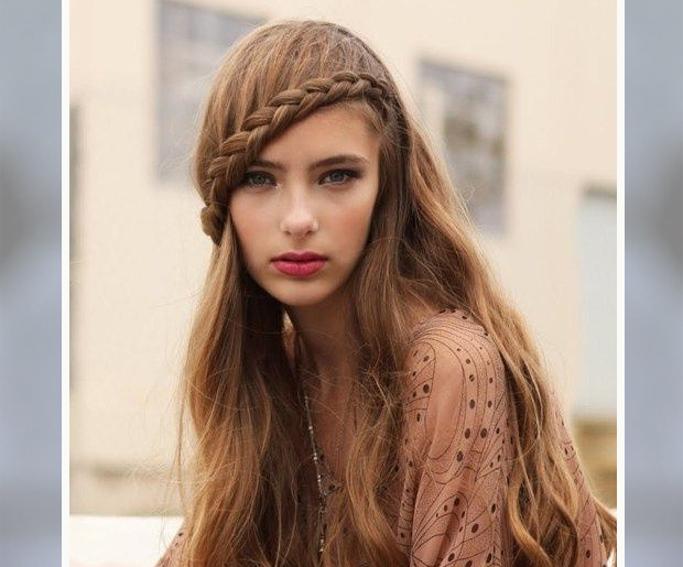 13 Best Hairstyles For Big Foreheads In Long Hairstyles For Big Foreheads (View 18 of 25)