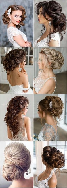 1340 Best Hair Styles For The Bride & Bridal Party Images In 2019 Throughout Long Hairstyles For Wedding Party (View 6 of 25)