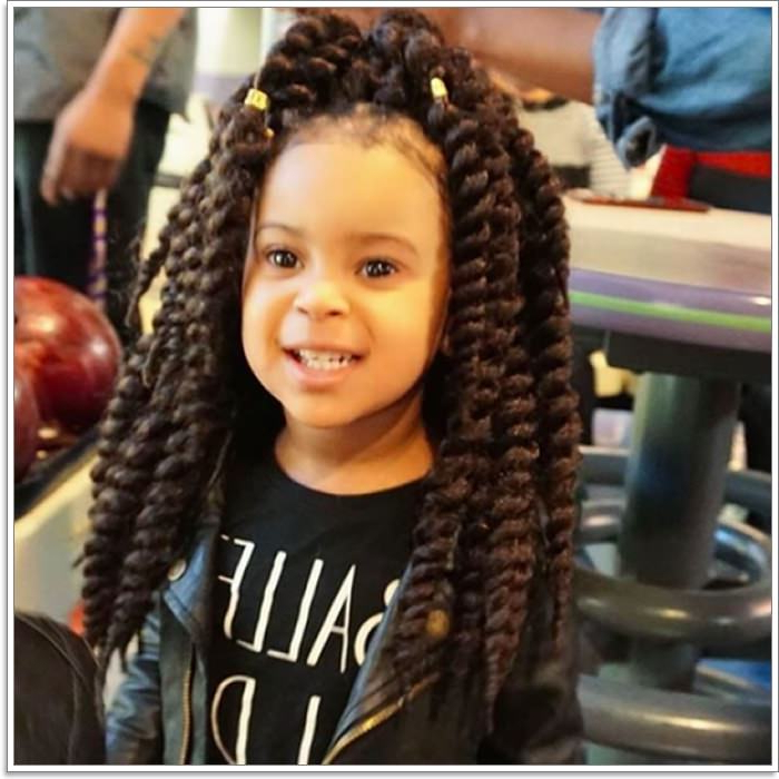 136 Adorable Little Girl Hairstyles To Try Regarding Black Girl Long Hairstyles (View 15 of 25)
