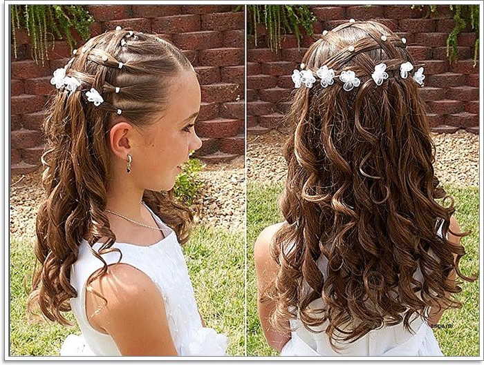 136 Adorable Little Girl Hairstyles To Try Regarding Long Hairstyles For Young Ladies (View 18 of 25)