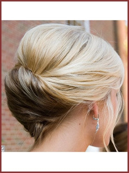 14 Fabulous French Twist Updos – Pretty Designs With Regard To Classic French Twist Prom Hairstyles (View 21 of 25)