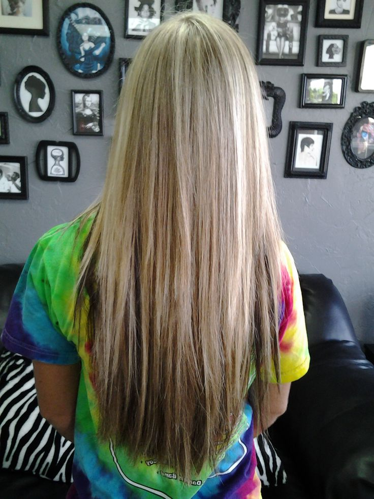 14 High Fashion Haircuts For Long Straight Hair – Popular Haircuts In Choppy Layers Long Hairstyles With Highlights (View 23 of 25)