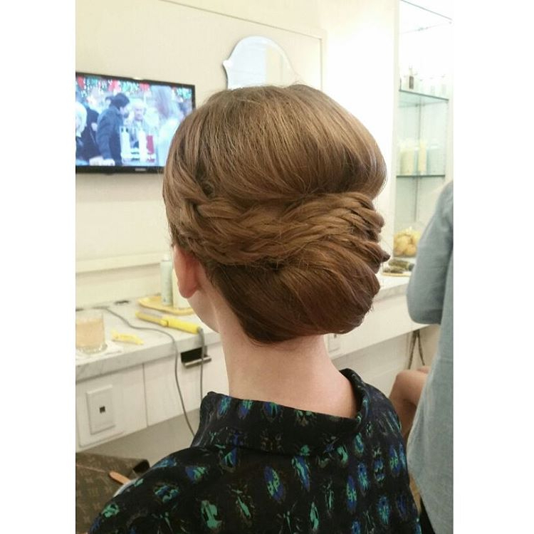 14 Prom Hairstyles For Long Hair That Are Simply Adorable Pertaining To Fishtailed Snail Bun Prom Hairstyles (View 10 of 25)