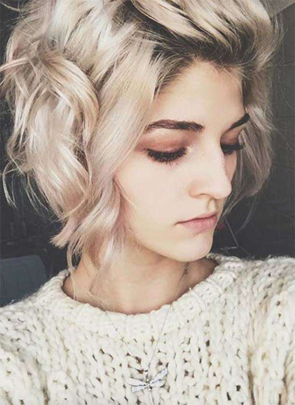 141 Easy To Achieve And Trendy Short Curly Hairstyles For 2019 With Regard To Short Obvious Layers Hairstyles For Long Hair (View 15 of 25)