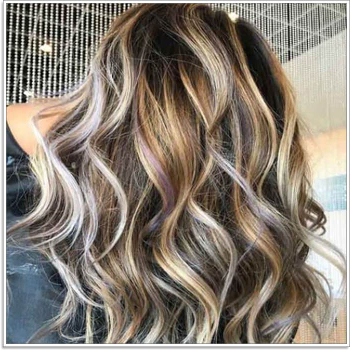 145 Amazing Brown Hair With Blonde Highlights In Brown Blonde Hair With Long Layers Hairstyles (View 15 of 25)