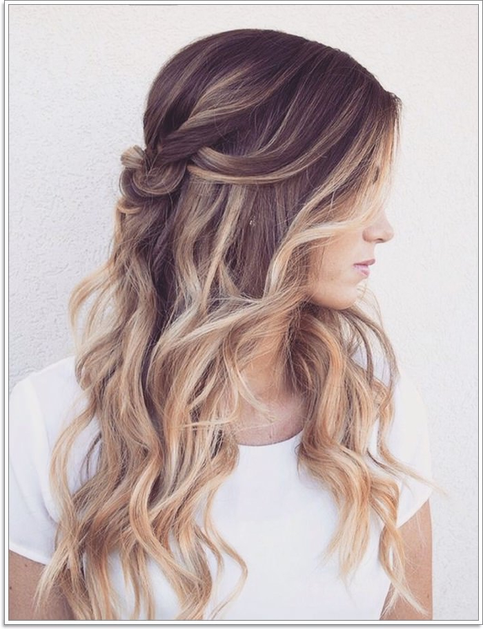 145 Amazing Brown Hair With Blonde Highlights In Long Hairstyles With Highlights (View 18 of 25)